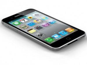Imagem apenas ilustrativa do iPhone 5, não correspondendo a realidade.