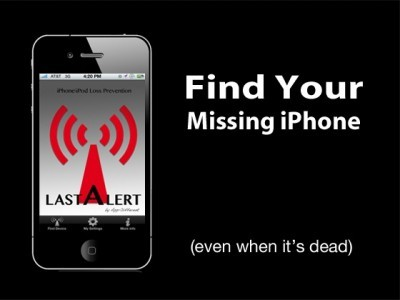 iPhone perdido e sem bateria? Com o Last Alert Pro no h problema!