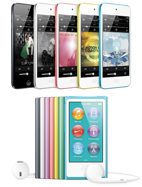 iPod Nano e iPod Touch