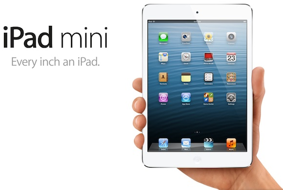 Apple apresenta iPad mini de 7.9 polegadas