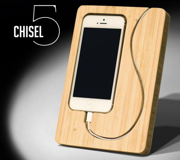 chisel-iphone-dock-bamboo