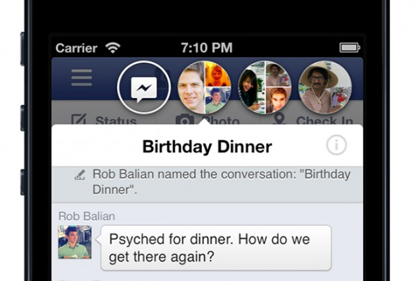Facebook atualiza a sua aplicao iOS com Chat Heads, Stickers e Feed de Notcias redesenhado